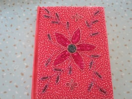 Handmade, Hand Crafted Beaded Journal Made in India