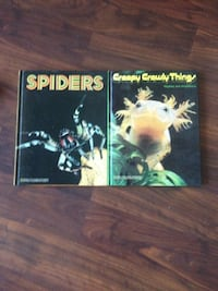 Spiders and Creepy Crawly Things books Toronto, M4G