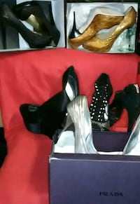 Lot shoes size 9 high heels  49 km