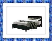 King platform bed will free mattress and delivery McLean