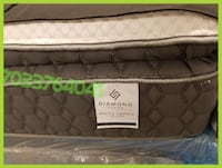Queen Pillowtop Brand New Mattress Set ASHBURN