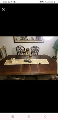 brown wooden framed coffee table Burlington, L7T 1H3