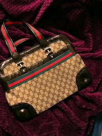 black and brown Gucci leather tote bag Frederick, 21702