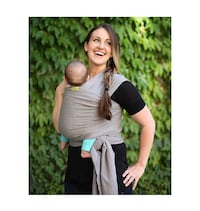 boba® - Wrap Baby Carrier in Grey