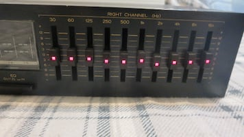 Teac EQA-6 10 band equalizer