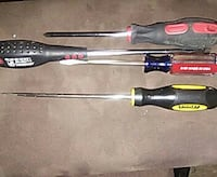 four assorted red and yellow screwdrivers Newport, 02840