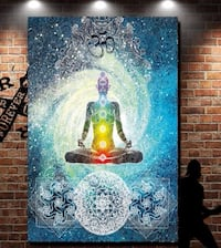 NEW - Beautiful 200cm Chakra Tapestry for decoration