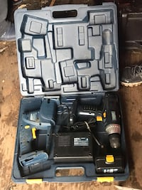 Black and gray cordless power drill London, N6E 2B6