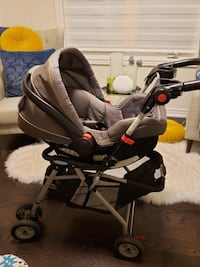 Infant Carseat with Stroller (Graco Snugride Click Connect) Brampton, L6P 4M1