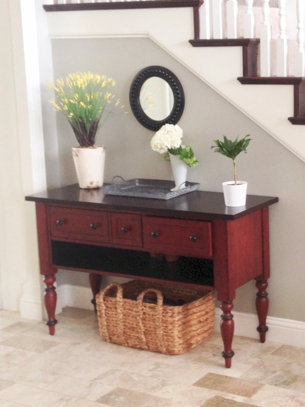 Used Pottery Barn Media Entry Table For Sale In Richardson Letgo