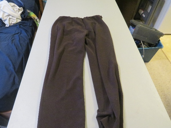 Womens Brown Cleo Pants Size 8