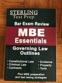 MBE Essentials Sterling Test Prep Washington, 20015