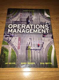Operations Management 1st and 2nd Editions