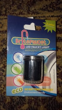 Faucet light changer - Temperature activated