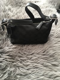 black leather 2-way handbag Calgary, T2H