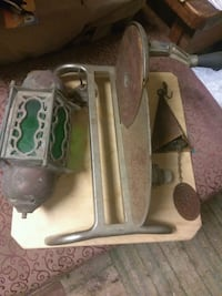 Old meat slicer hand crank.50$ very old wind chime Independence, 70443