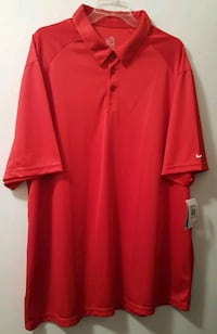 Nike Dry Fit Red Polo Shirt 2XL New! Albuquerque, 87109