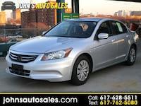 Honda Accord Sdn 2012 Somerville, 02143