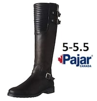 Pajar Avery Equestrian Boots Fall Leather boots below knee 5-5.5