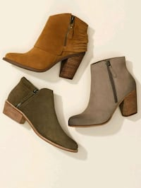 Beige Ankle Booties Size 7 North York, M3K 2C1