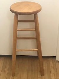 Tall Wooden Stool  Lincolnwood, 60712