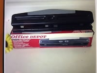 Office depot paper hole punch new in the box