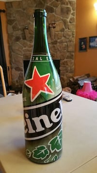 collectable Heineken bottle