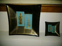 brown and black wooden wall decor 307 mi