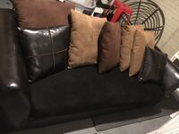 Set, leather and micro fiber sofa and loveseat Dumfries, 22026