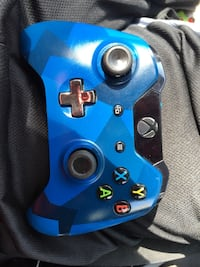 Blue and black xbox one controller Houston, 77066