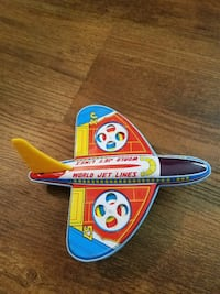 Vintage world jet lines toy plane  Bealeton, 22712