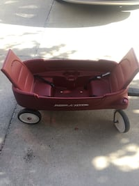 red and black Radio Flyer pull wagon Brentwood, 94513
