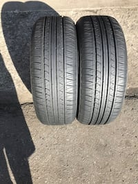 Fuzion tires 215-60-16 like new  Jersey City, 07307