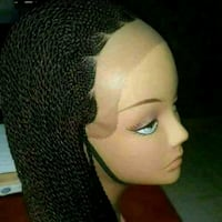 African Braided wigs available in Corncrow and Mil