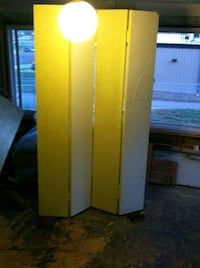 yellow and white wooden cabinet Pocola, 74902