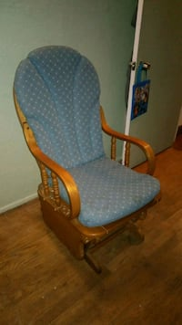 Used Caxton Glider Rocker With Removable Cushions For Sale