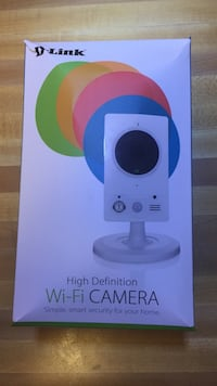 D-Link HD wi-fi camera box