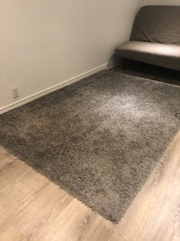 IKEA HAMPEN rug, high pile, grey Toronto, M6J 2K8