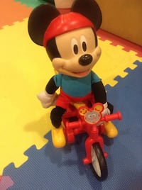 Bike riding Mickey Mouse  Brick, 08724