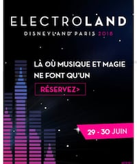 Billets electroland Paris, 75018