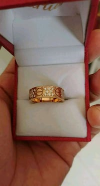 Cartier rings size 7 it's new Singapore, 640842