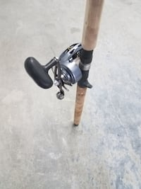 Fishing reel and rod TORRANCE
