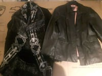 black and gray button-up jacket Orillia