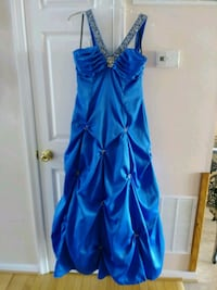 Masquerade size 13/14 blue ball gown prom dress  Martinsburg, 25403