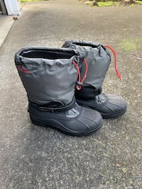 Columbia waterproof boots size 6 adult