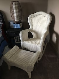 Rocking chair and ottoman Eden Prairie, 55346
