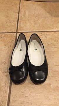 pair of black leather flats New York, 11361