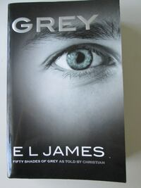 Book Grey by E L James Softcover Book