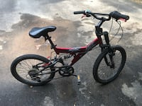 red and black full suspension mountain bike Vienna, 22181