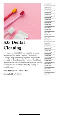 dental cleaning Fairfax